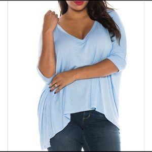 Nordstrom Tops - Nordstrom Slink jeans v neck top